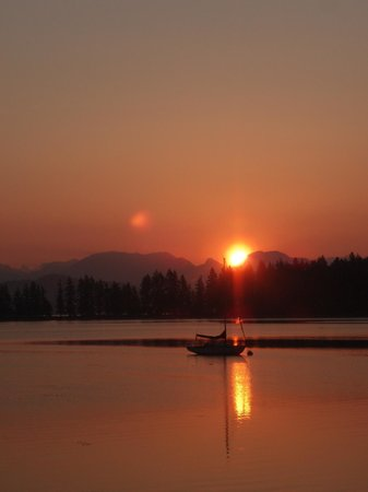 Quadra Island Kayaks - Day Tours: The sunset paddle is a perfect way to end your Quadra Island Day...