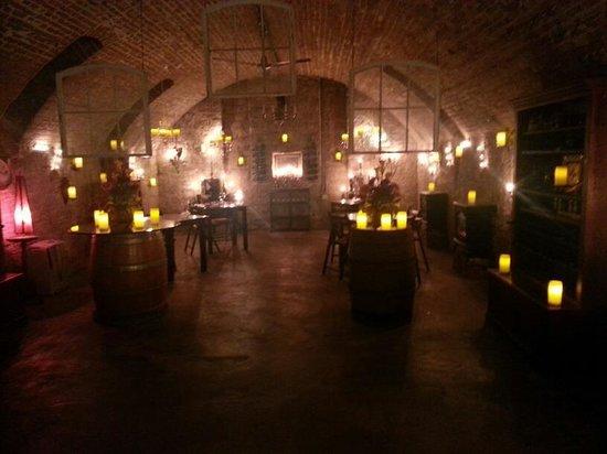 Alpenhorn Gasthaus: Wine Cellar
