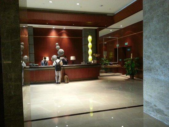 Haiyatt Garden Hotel-Dongguan : Reception from Lobby