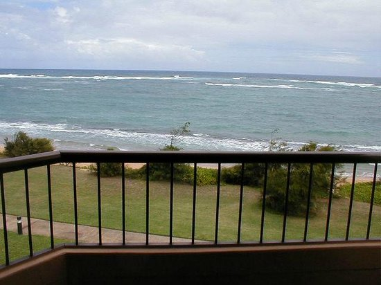 Courtyard by Marriott Kauai at Coconut Beach:                   balcony
