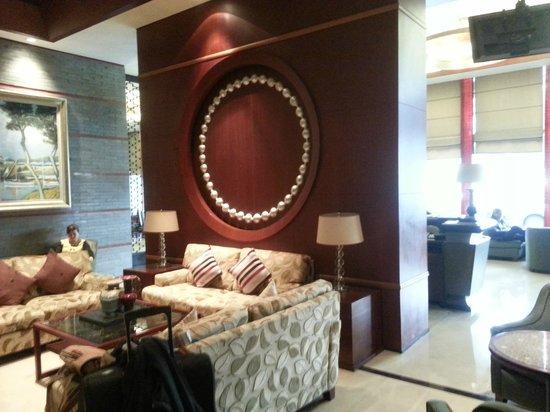 Haiyatt Garden Hotel-Dongguan : Lobby from front desk