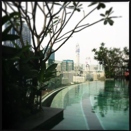 Hotel Muse Bangkok Langsuan - MGallery Collection:                                     Pool with a view...