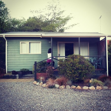 Abel Tasman Haven:                   Chalet #3 - the biggest of all