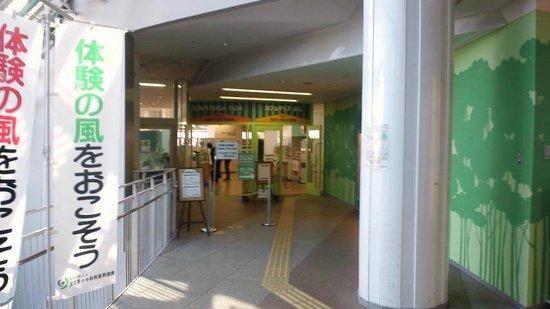 National Olympics Memorial Youth Center:                   食堂