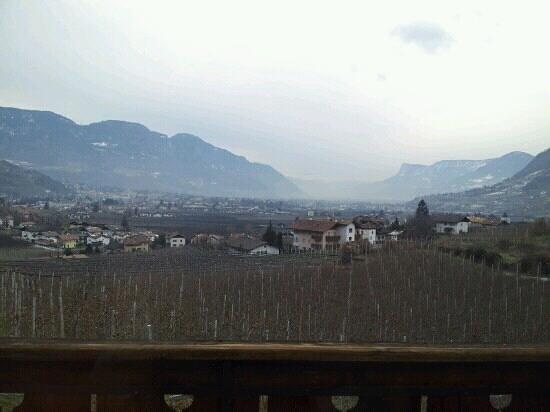 Winklerhof:                   View from our window