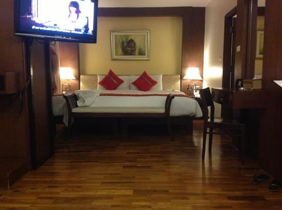 Salana Boutique Hotel:                   our bedroom suite