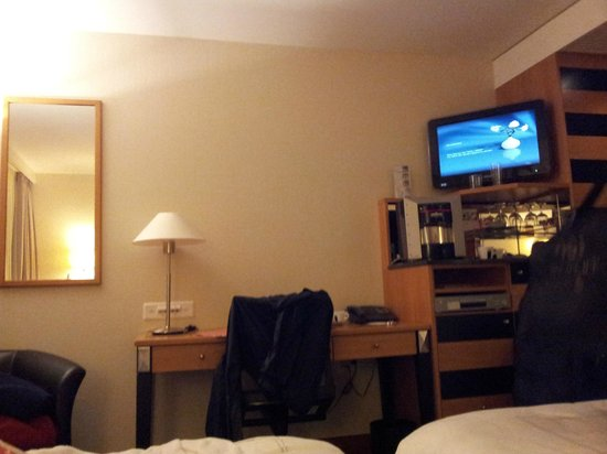 Swissotel Zurich: Standrd room