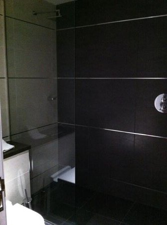 Roomzzz Newcastle City:                   bathroom loft suite