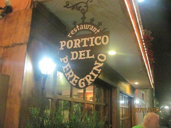 Portico del Peregrino:                   фото ресторана
