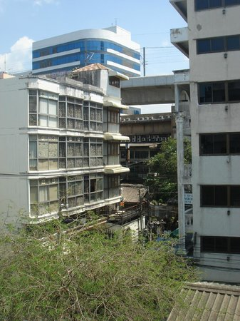 myhotel Pratunam:                                     Window view