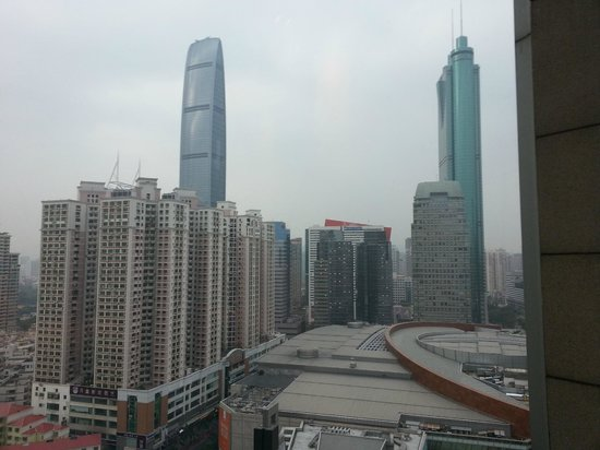 Grand Hyatt Shenzhen:                   View from the room of the two (current) tallest buildings in Shenzhen