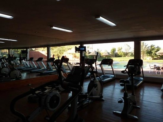 Bustan Urban Retreat: Aerobic Gym, there is a Separate Weights room