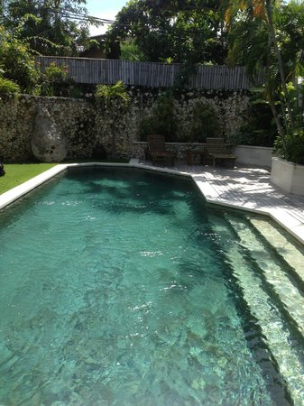 Villa Kubu Seminyak:                   Our private villa pool, magnificent!