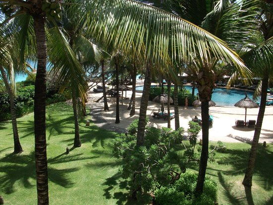 Constance Belle Mare Plage:                                     View from Junior Suite 723