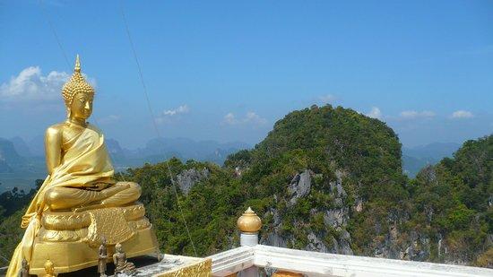 Tiger Cave Temple (Wat Tham Suea) :                   La récompense!