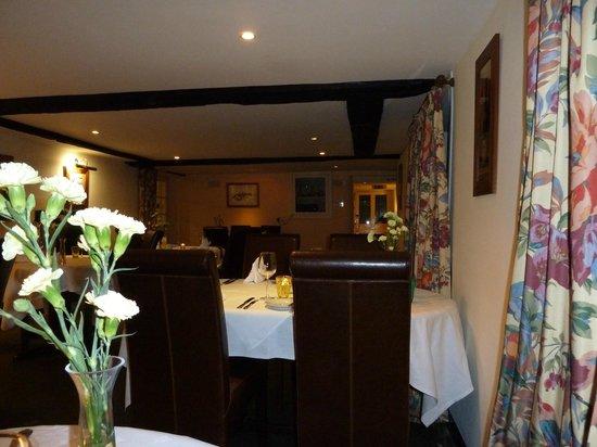Trehellas House:                   Beautiful dining room