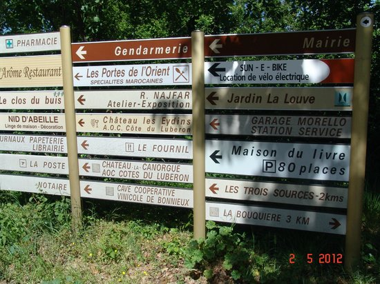Les Terrasses du Luberon: There is tips for travel at Terrases du Luberon
