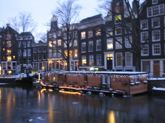 Herengracht: As the night falls
