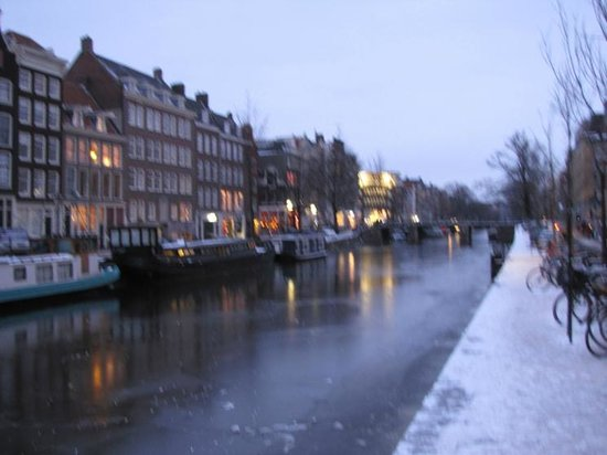 Herengracht: Night falls