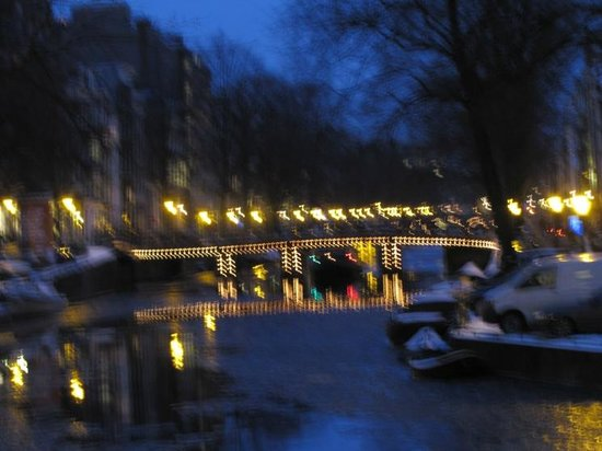 Herengracht: Nightly view with some movement impact