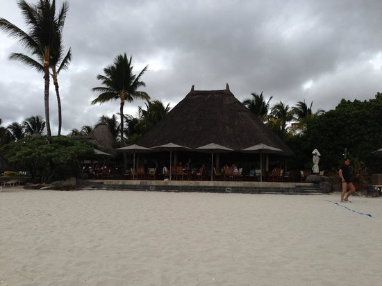 La Pirogue Resort & Spa-Mauritius:                                                       Example Oct weather when cloudy