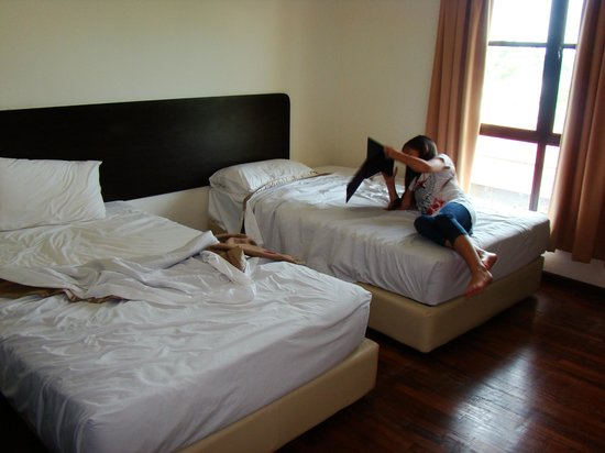 Bukit Gambang Resort City: Room 1/2 with Twin Beds