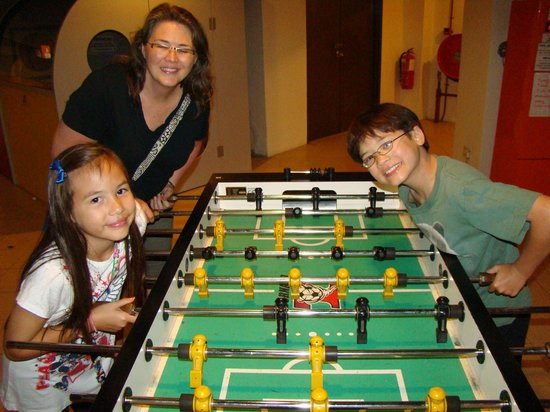 Bukit Gambang Resort City: Foosball Time