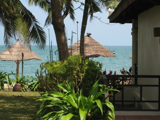 Evason Ana Mandara Nha Trang:                   Vue de la villa