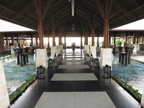Shangri-La's Boracay Resort & Spa : Reception/Foyer