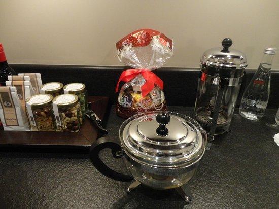 Hotel Bergs:                   чай, кофе