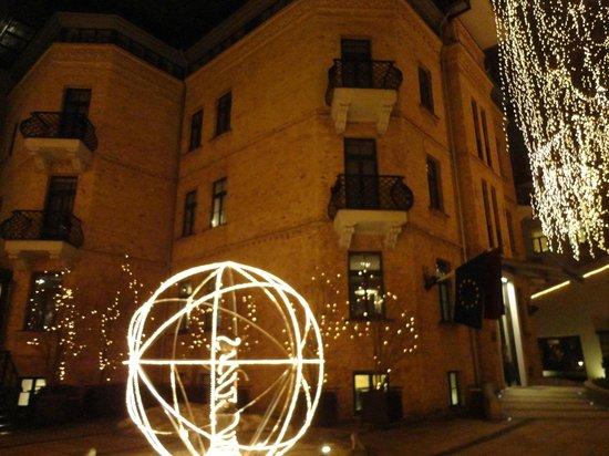 Hotel Bergs:                   зимняя сказка