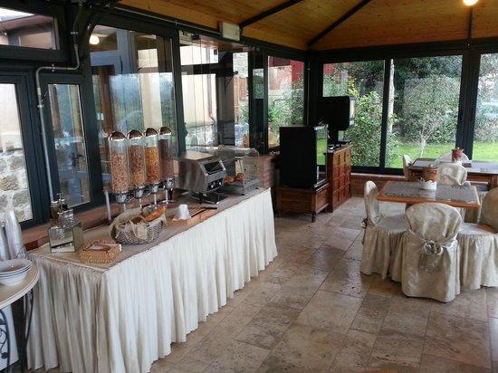 Hotel Al Grappolo d'Oro:                   sala colazione