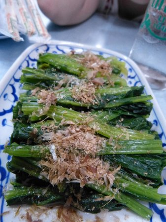 Sakura :                   Cold Spinach with Dried Bonito