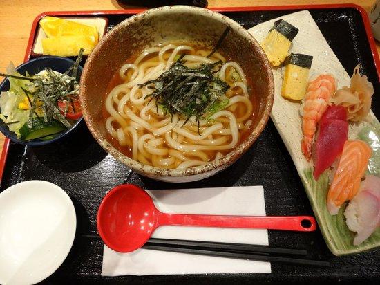 Iwase: Sushi and Udon Set