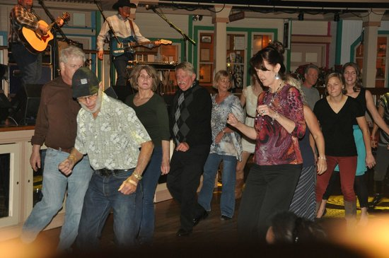 Crystal Palace and Museum:                                     Learn to line-dance!