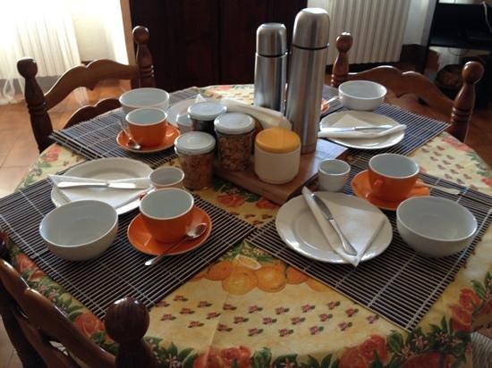 Le Camelie B&B :                   colazione