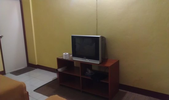 Panda House Chiangmai:                   room tv.