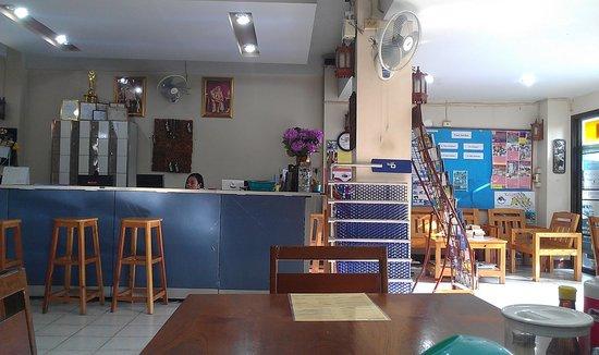 Panda House Chiangmai:                   front desk