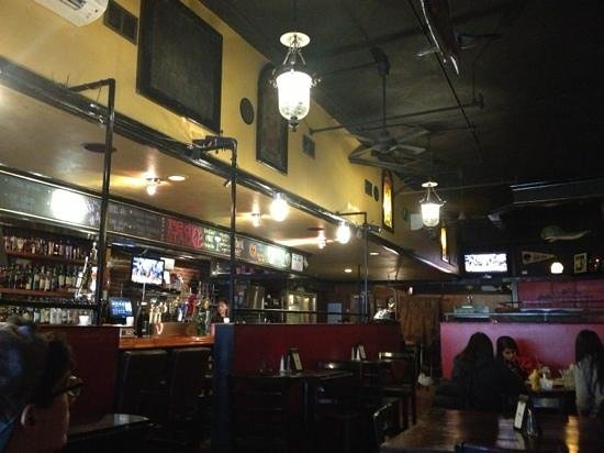 Hairy Tony's:                   inside lunchtime