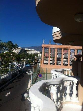 Cleopatra Palace Hotel:                   my balcony