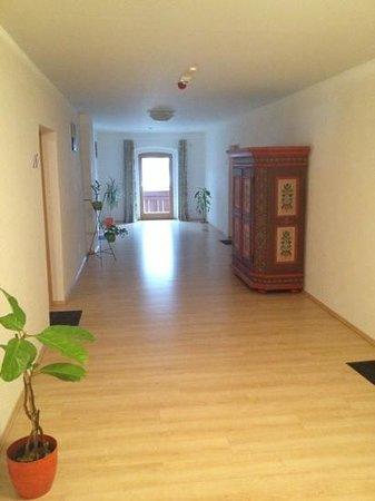 Hotel Kammerhof:                   The corridor