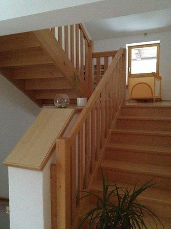 Hotel Kammerhof:                   Staircase