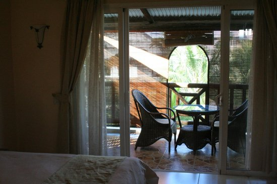 Le Palmiste Resort & Spa:                                     Veranda vue de la chambre