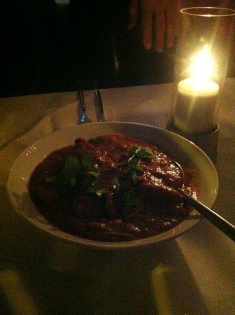 Tamanna's:                                                       Chicken and Mushroom Balti