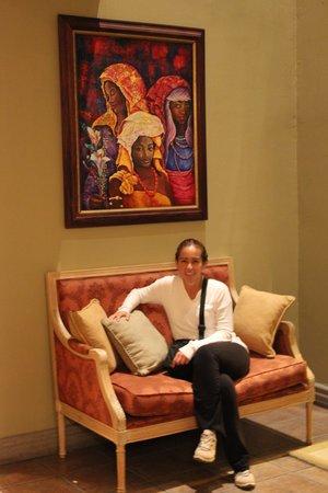 Casa Conde Hotel & Suites: Pasillo de las habitaciones