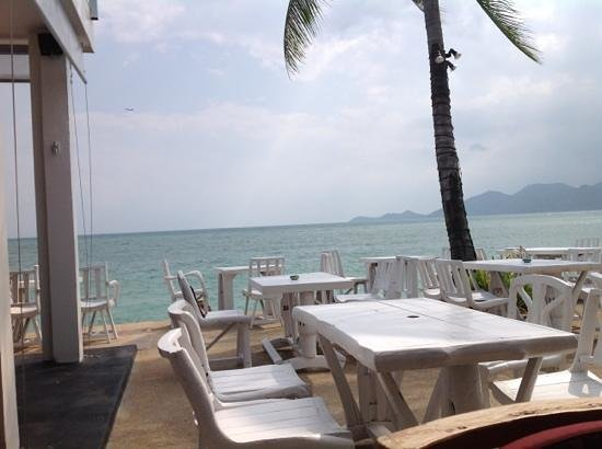 Papillon Resort :                   view from bar