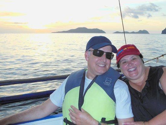 El Nido Resorts Miniloc Island:                   sunset cruise