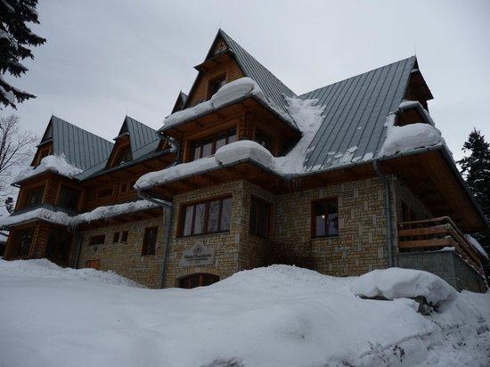 Karolowka Hotel: From the street