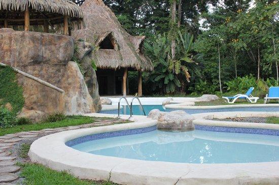 Villas del Caribe: hermosa pileta y yacuzi