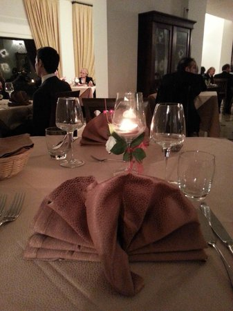 Borgo San Rocco Resort:                                     The lovely setting of the new year eve dinner